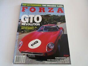 FORZA-MAGAZINE-FERRARI-Issue-68-April-2006-GTO-250-F430-Challenge-F1