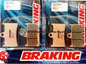 POUR-YAMAHA-FZ1-FAZER-ABS-1000-2011-11-PLAQUETTES-DE-FREIN-AVANT-Sinterises-BRAK