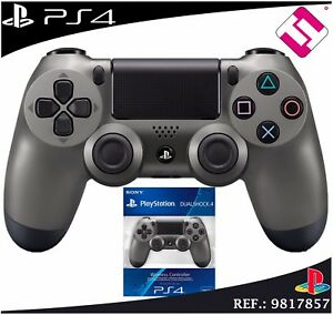 MANDO-PS4-DUALSHOCK-COLOR-ACERO-PLAYSTATION-4-STEEL-EDICION-LIMITADA-ORIGINAL