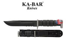 KA-BAR - D2 Extreme Fighting Knife w/ Cordura Sheath USA 1281 New