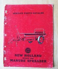 New Holland Model 300 Manure Spreader Service Parts Catalog Manual