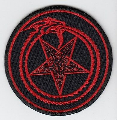 Patch 3,2 X 3,2 Inch Pentagram B/r 8 X 8 Cm Buy Any 3 Get 4 Honest Ouroborus