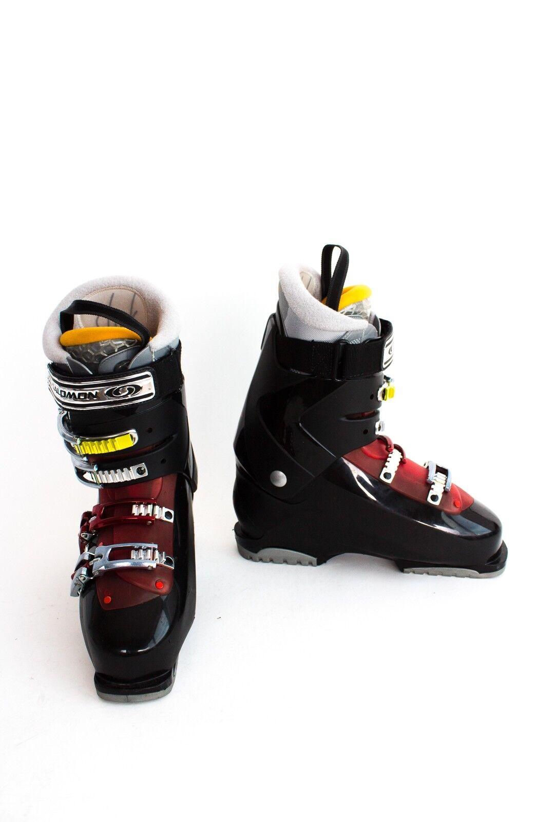 SALOMON PERFORMA Skischuhe Gr. 27 EU 42,5 Unisex Schuhe Schwarz Rot