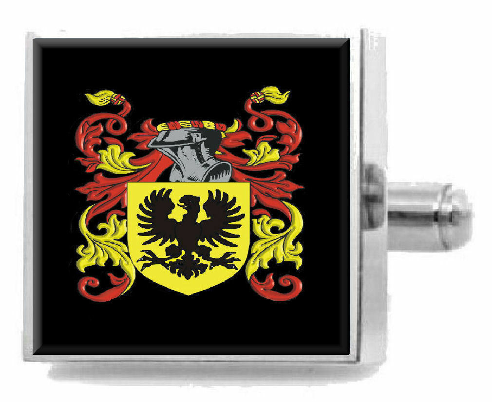 Firebrass England Family Crest Surname Coat Of Arms Cufflinks Personalised Personalised Personalised Case 2bf8b1