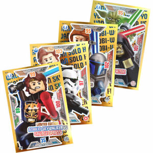 Lego-Star-Wars-Series-2-Trading-Cards-4-Various-Limited-Cards-LE17-L