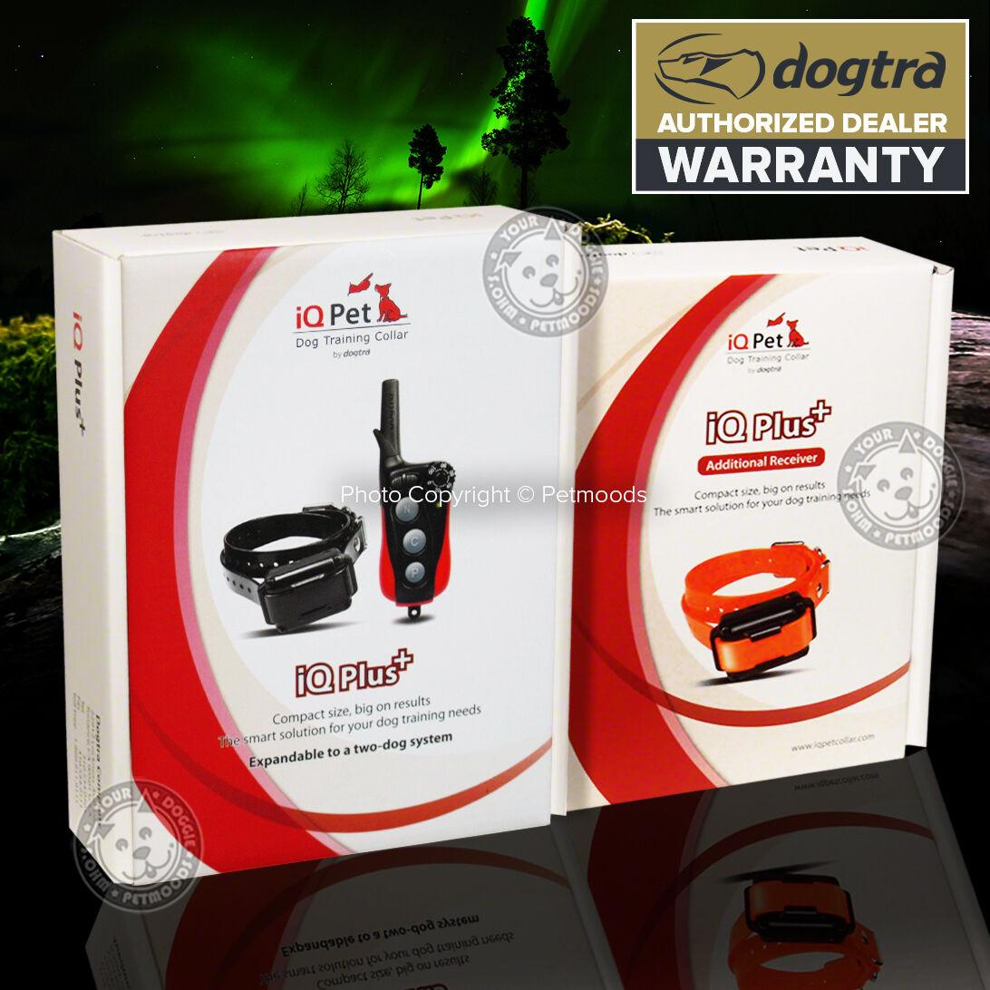 Dogtra iQ PLUS 400 Yard CollarReceiver Transmitter Remote 2Dog Training Collar