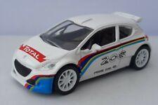 A ESTRENAR GENUINO PEUGEOT 208 T16 Modelo Diecast Car 1:43