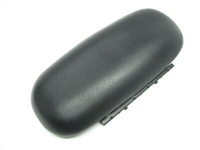 Console Armrest Leather Synthetic Cover for Ford Mustang 94-04 Black