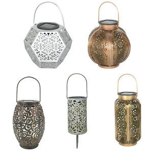 Solar-LED-Hanging-Lights-Hollow-Lantern-IP44-Outdoor-Garden-Atmosphere-Decor
