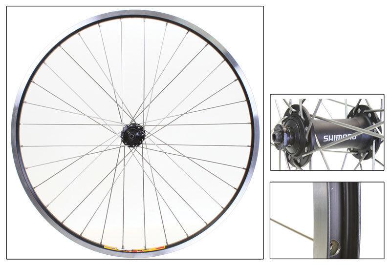 WM Wheel  Front 26x1.5 559x19 Wei Zac19 Bk Msw 32 T4000 Bk Dti2.0sl