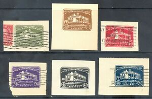 US Stamp (L163) Scott# U523-U528, Used/Mint LH, Nice Vintage Cut Square