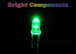 20-x-Green-LED-3mm-Ultra-Bright-1st-CLASS-POST