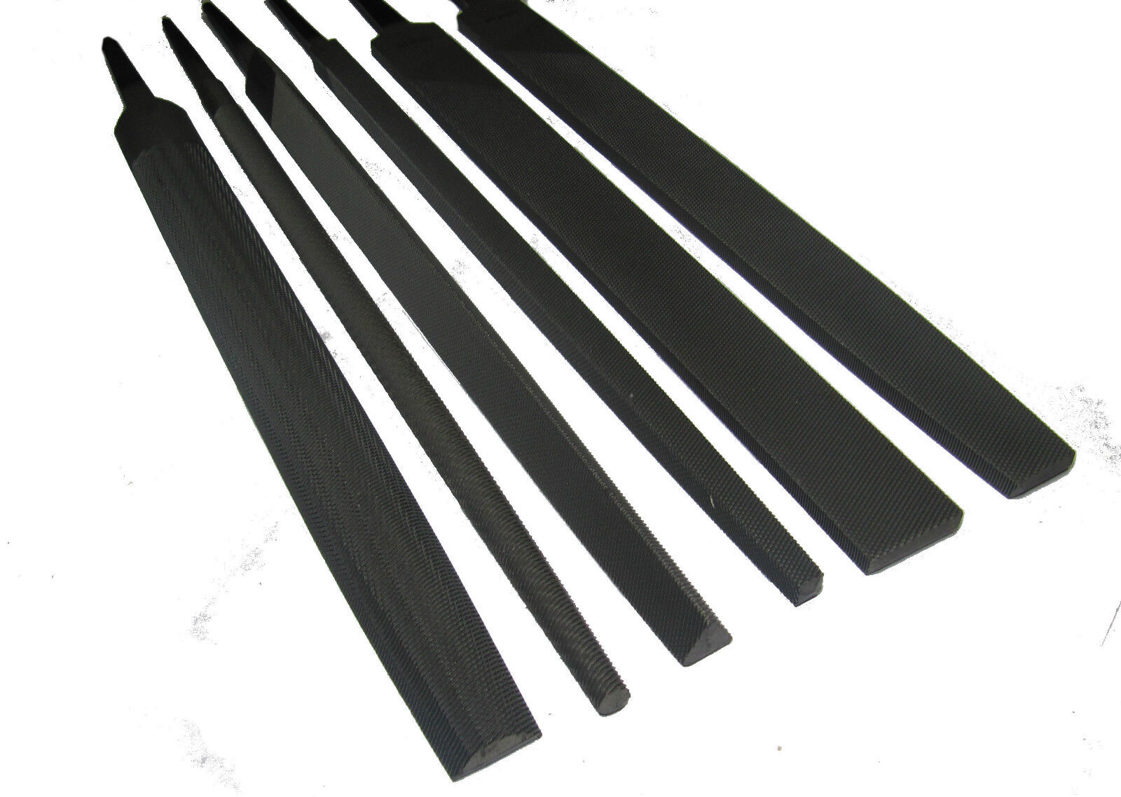 """For Precision Hand Metal File Flat Steel FineTeeth 4-18/""""100-350mm Quality Swiss"""