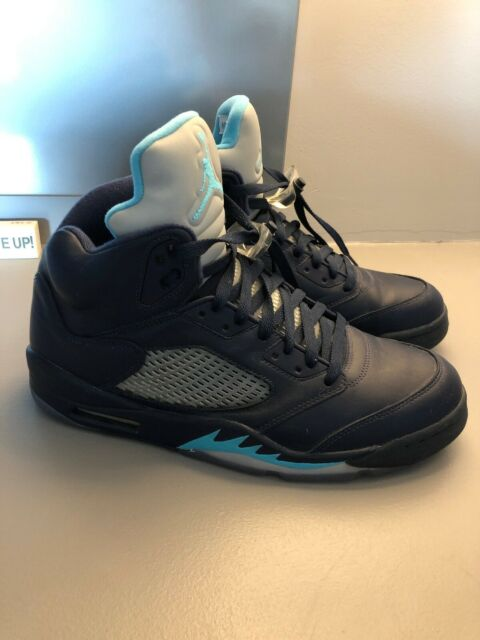 low priced 9dca6 6ab58 Nike Air Jordan Retro V 5 Hornets Midnight Navy Pre Grape Size 11