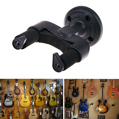 Electric Guitar Wall Mounted Hanger Stand Holder Rack Hook for All Size Guitars