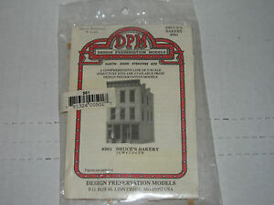 DPM - N scale 501 Bruce's Bakery Kit