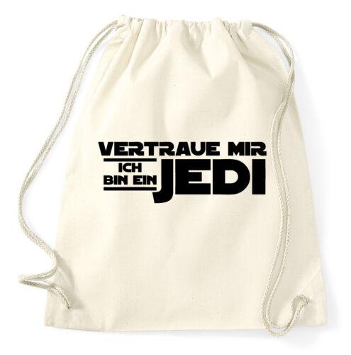 Vertraue mir ich bin ein Jedi Turnbeutel Lustig Sportbeutel Star Wars Rucksack