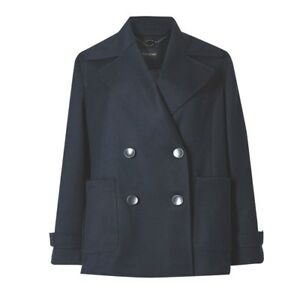 Double Autograph Blazer Navy M Jacket breasted s pvfRq