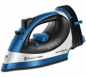 Russell Hobbs 23770 Corded Wrap & Clip Easy Store Steam Iron 2400W - Blue
