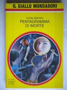 Pentagramma-di-morte-Barnes-Linda-Mondadori-giallo-2349-Carlyle-Rundegg-Forte