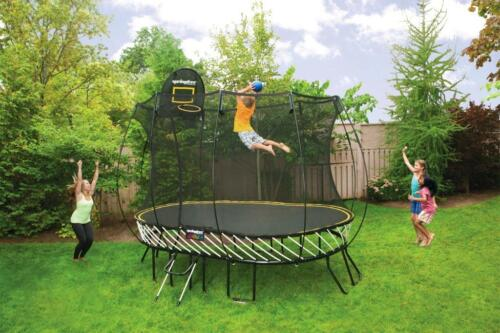 Brand New Springfree O77 Trampoline Safe Children Jump 11ft 8ft Quailty Bargain