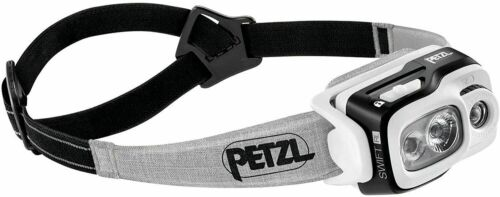 Details about  /PETZL Black Reactive Lighting Technology Swift RL Headlamp 900 lumens