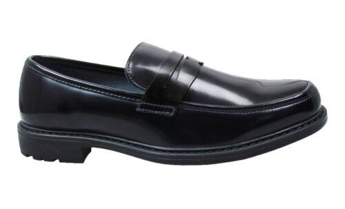 Chaussures Man's Homme Écologique Noir Class Mocassins Élégant Cuir Casual dgWX4XqU