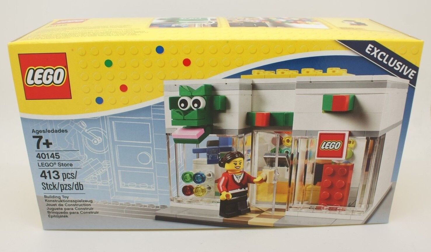 Lego Store Grand Opening Exclusive Building Toy Set Limited 40145 413 pc NISB