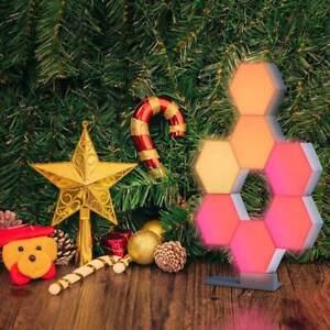 LifeSmart-LED-Expansion-Panel-ColoLight-Wi-Fi-Alexa-Google-App-Control-Home-Dec