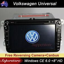 "8"" Navigation Car DVD GPS Stereo Player For VW GOLF JETTA POLO PASSAT TIGUAN"