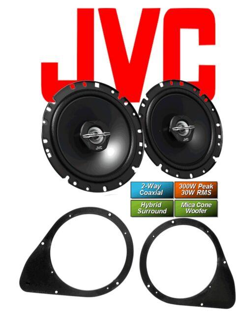 JVC Koax Lautsprecher für FIAT 500  ab 2007 Türen  Hinten