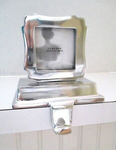 Lunares Nima Oberoi Silver Tone Chunky 3 Photo Frame Stocking