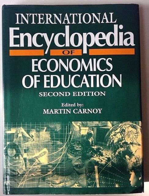 Resources in Education: International Encyclopedia of Economics of Education Vol
