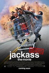 Jackass The Movie (Zweiseitig Regulär) Original Filmposter