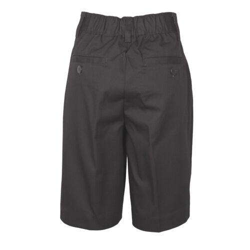 Boys Gray Pleated Shorts Universal School Uniform Sizes 4 to 20