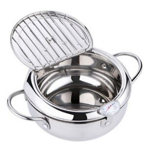 MOM-039-s-HAND-Kitchen-Deep-Frying-Pot-Thermometer-Tempura-Fryer-Pan-Temperatur-E5R3