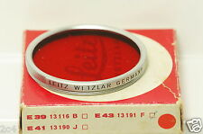 filter E43 R  Rot Red e 43 43mm ..................  6075
