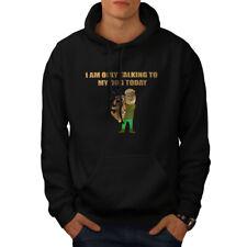 Social Casual Jumper wellcoda Talking to My Dog Mens Sweatshirt