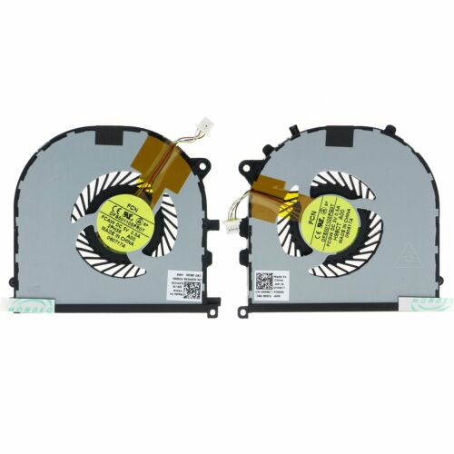 NEW CPU GPU Cooling Fan For Dell XPS 15 9530 Precision M3800 H98CT 2PH36 L+R
