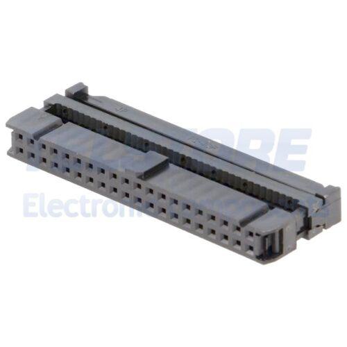 2pcs T812-1-40 Spina IDC femmina PIN 40 connettore passo 2,54mm AMPHENOL