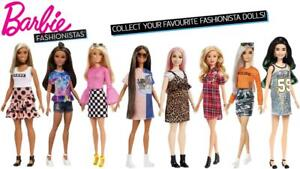 Barbie-Fashionistas-Collectable-Dolls-Choose-Your-Favourites