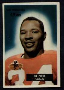 1955-Bowman-44-Joe-Perry-EX-EX-49ers-A272