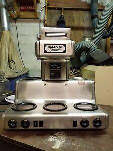 Bunn-o-matic Rl35 Automatic Coffee Brewer 5 Warmers Commercial Restaurant Coffee, Cocoa & Tea Equipment Bar & Beverage Equipment