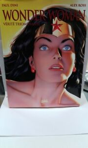 Wonder-Woman-verite-triomphante-de-Ross-Alex-Dini-Paul-Livre-d-039-occasion