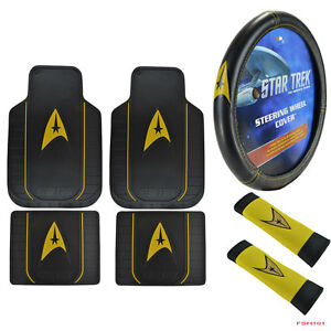 New 7pcs Star Trek Delta Car Truck Front Rear Floor Mats