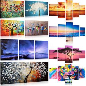 Quadro moderno 1 3 5 pezzi stampa su tela arredamento arredo arte casa quadri ebay - Quadri arredamento casa ...
