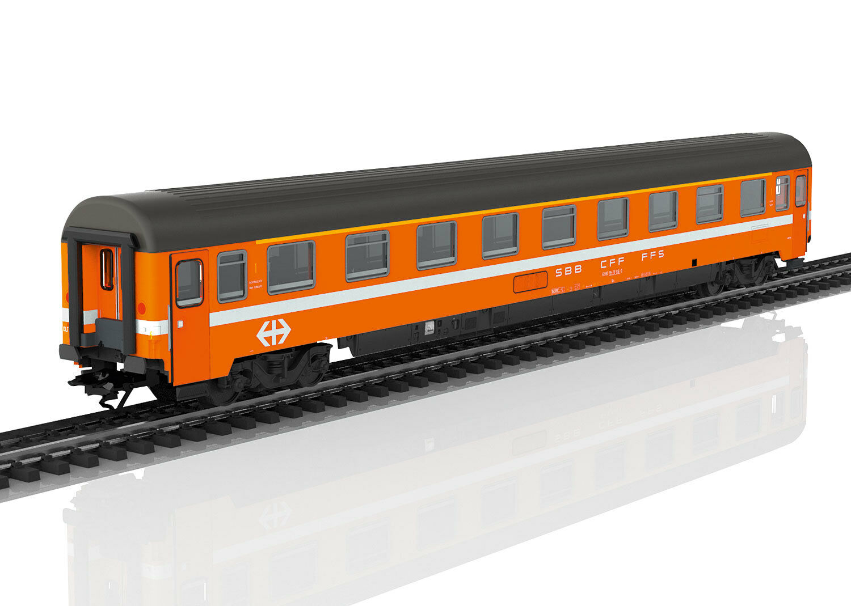 H0 marklin 43340 vagoni treno rapido Eurofima 1.kl. SBB CFF FFS nuovo OVP