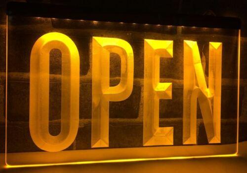 Open Sign fermé DEL néon bar SIGNE Home Light Up boisson pub Custom Shop Pizza