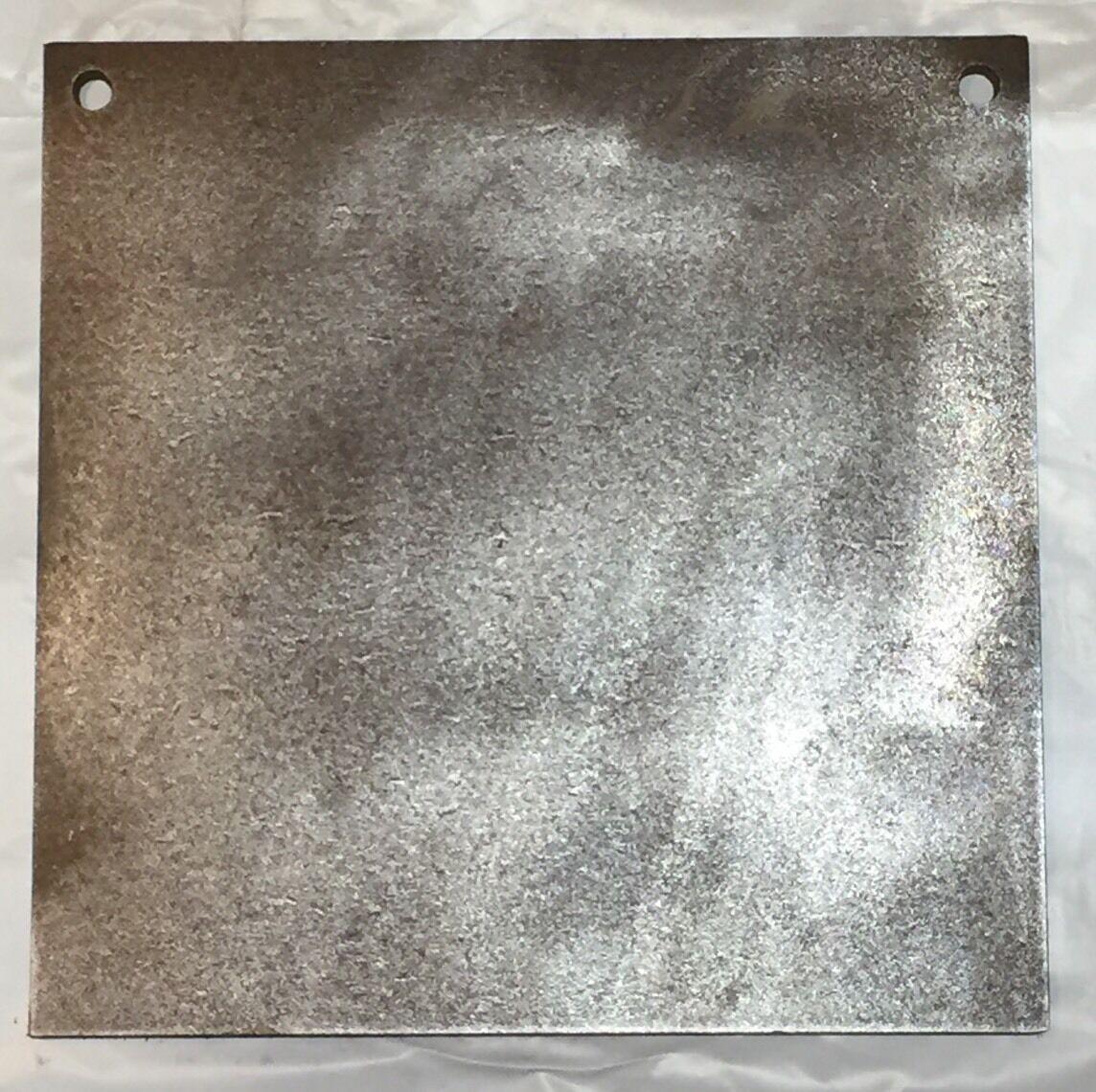 Gong cuadrado de destino de acero AR500 1 2  X 16