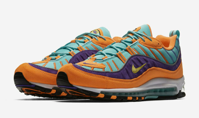 DS Nike Air Max 98 Cone Sz 10.5 100 Authentic 924462 800